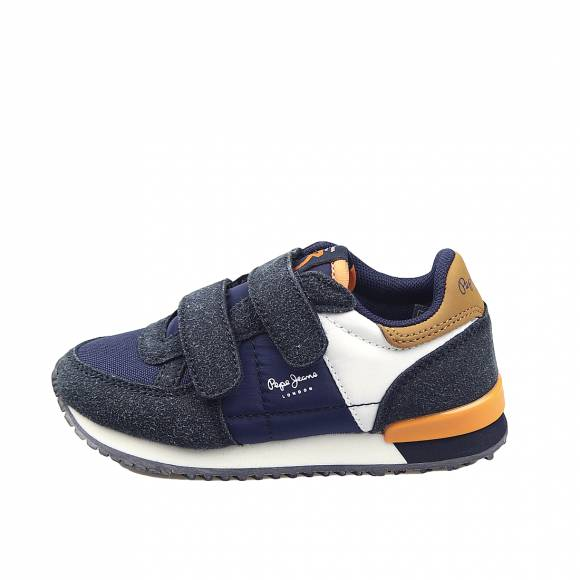 Παιδικά Sneakers Pepe Jeans PBS30454 595 Sadney Basic Boy Navy