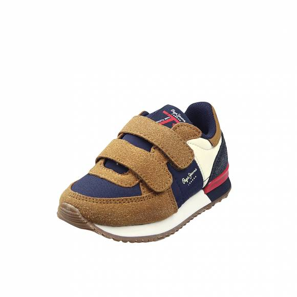 Παιδικά Sneakers Pepe Jeans PBS30454 859 Sadney Basic Boy Tobacco