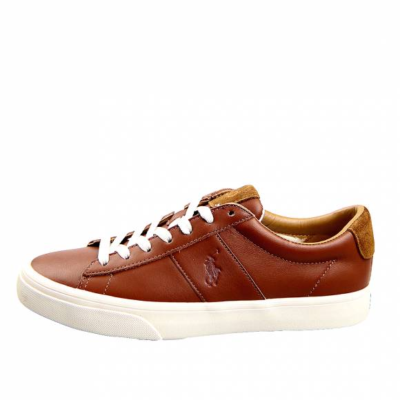 Ανδρικά Sneakers Polo Ralph Lauren Sayer Sk Vlc 816786745003 Cla Tan