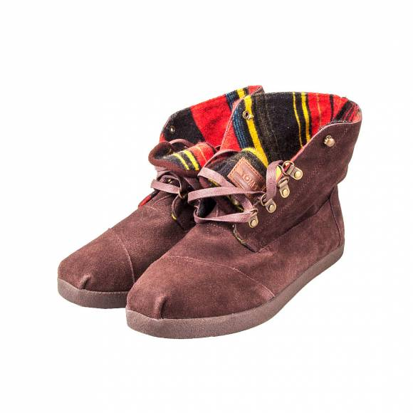 TOMS BOTAS HIGHLANDS 015084A12 BROWN STRIPE