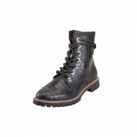 Γυναικεία Bike Boots S.Oliver 5 25219 23 055 Black Croco