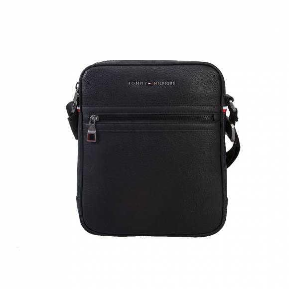 TOMMY HILFIGER ESSENTIAL SLIM REPOR AM0AM01716 BLACK