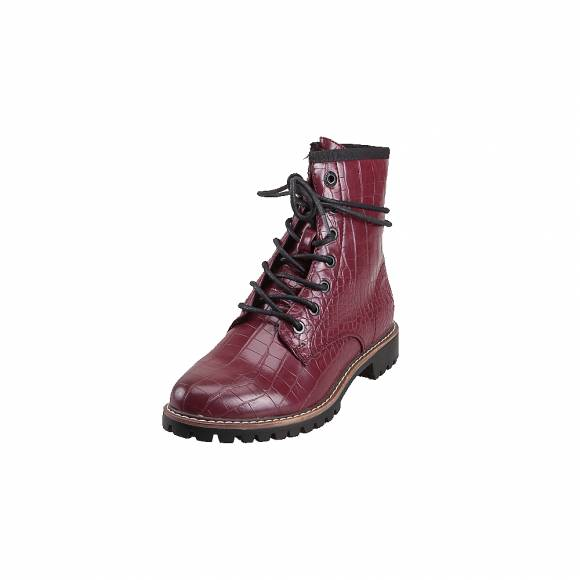 Γυναικεία Bike Boots S.Oliver 5 25219 23 552 Bordeaux Croco
