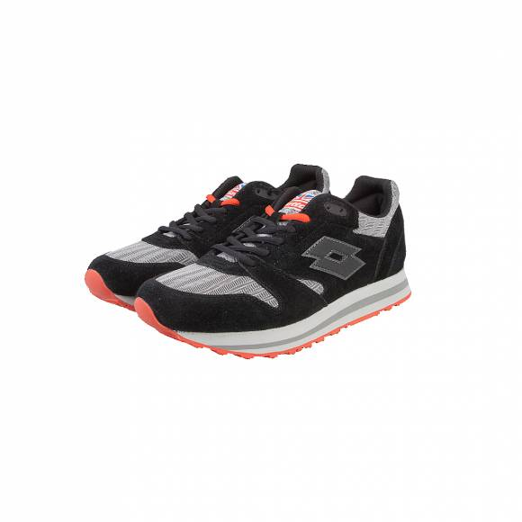 LOTTO S9994 TRAINER X HRB BLK/ASPHALT
