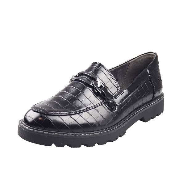 Γυναικεία Loafers Tamaris 1 24601 25 028 Black croco