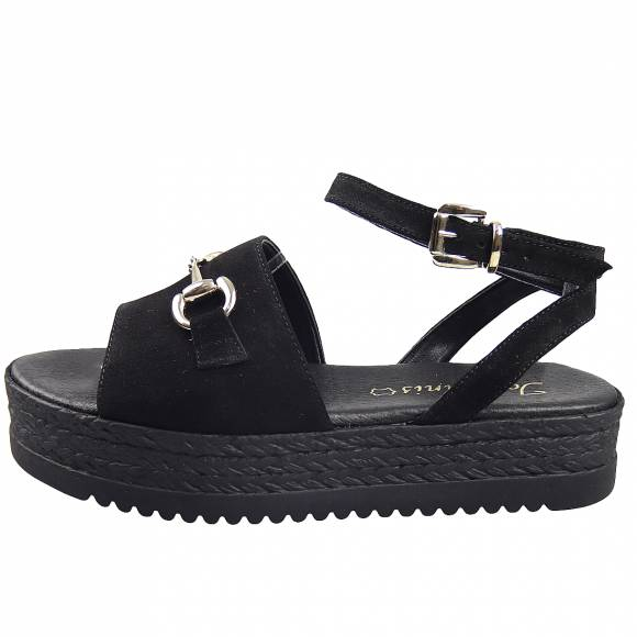 Γυναικεία Flatforms Toutounis 26403 Black