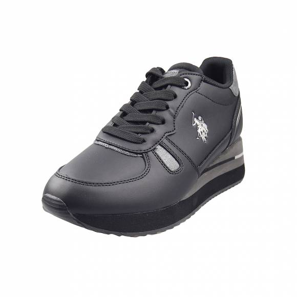 Γυναικεία Sneakers Us Polo Assn Sylvi Club Black SYLVI4032W0 Y1