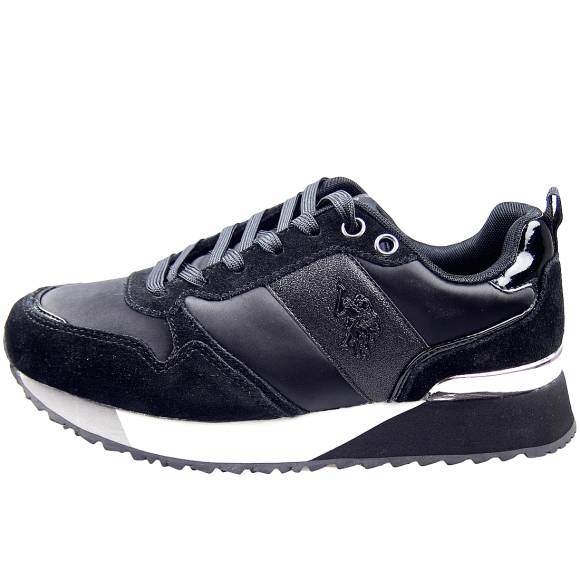 Γυναικεία Sneakers Us Polo Assn Tabitha5 Black FRIDA4103W8 TS3