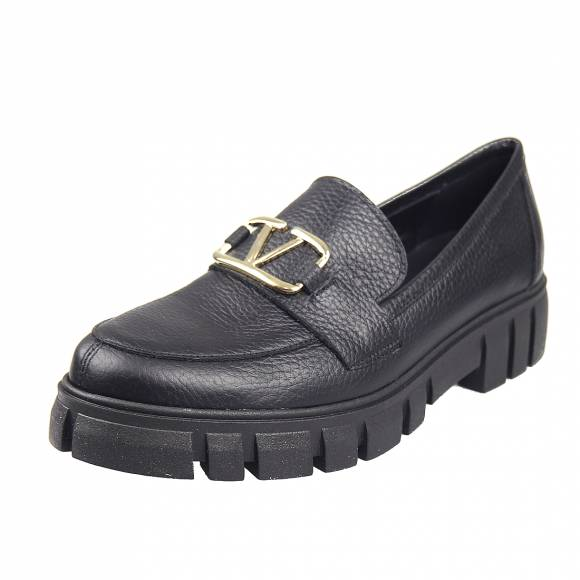 Γυναικεία Loafers Verraros Donna V 120 Black extra light sole