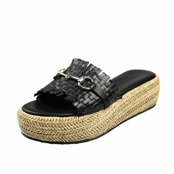 Γυναικεία  Flatforms Verraros K160 Black
