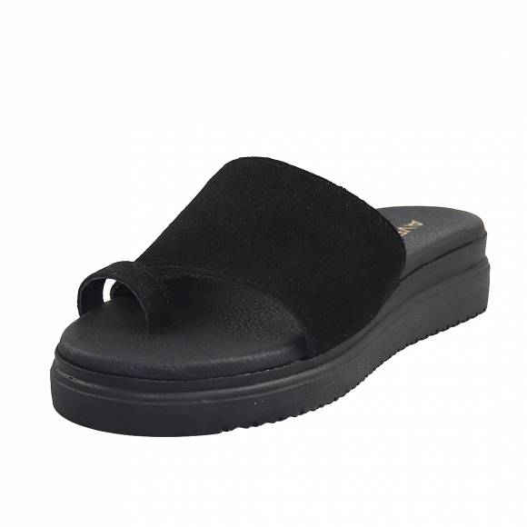 Γυναικείες Flatforms Verraros 270 Black