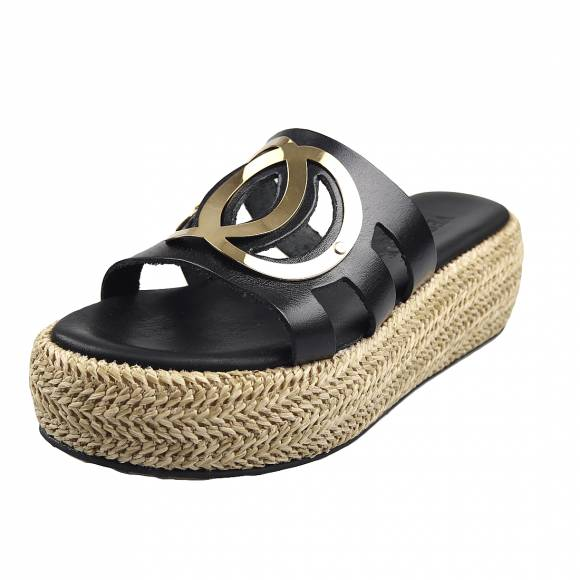 Γυναικεία Flatforms Verraros k164 Black