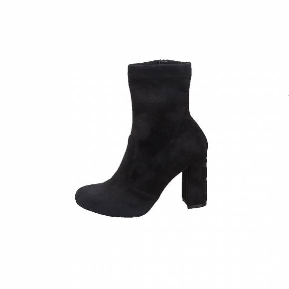 NELLY SHOES NL496 01BLACK SUEDE