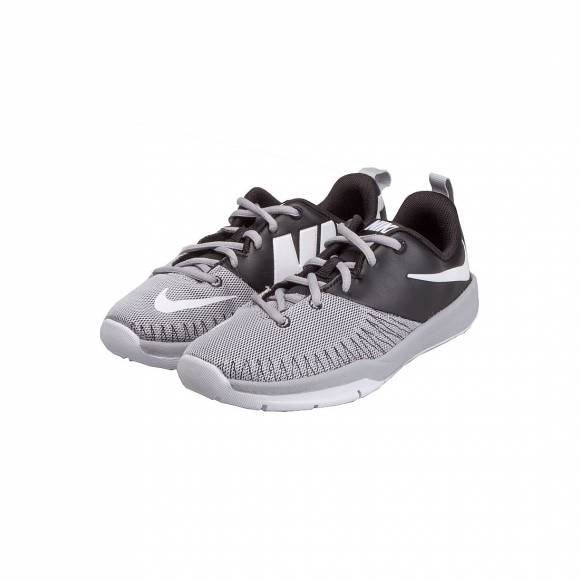 NIKE TEAM HUSTLE D 7 LOW (GS) 834318 002 BLK GREY