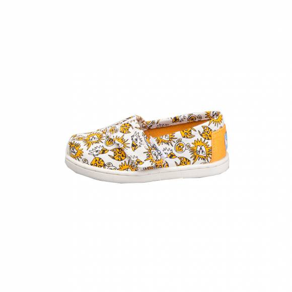 TOMS CLASSIC ORANGE CANVAS WILD CATS 10007427