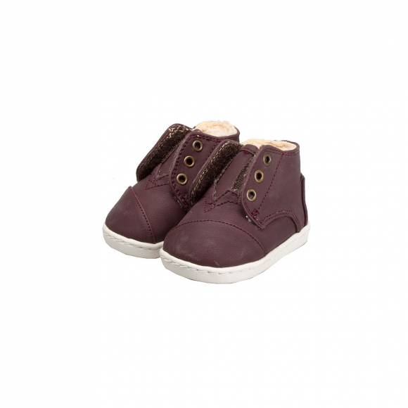 TOMS PASEO MID BROWN SYNTHETIC LEATHER 10006341