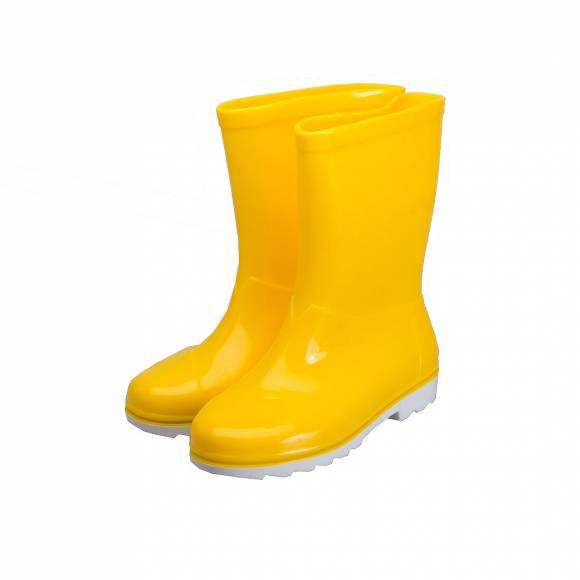 TOMS RAIN BOOT YELLOW PVC 10006289