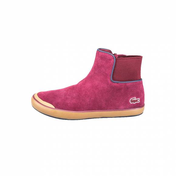 LACOSTE LANCELLE CHELSEA 316 2SPW BURG SUEDE 7-32SPW01151V9