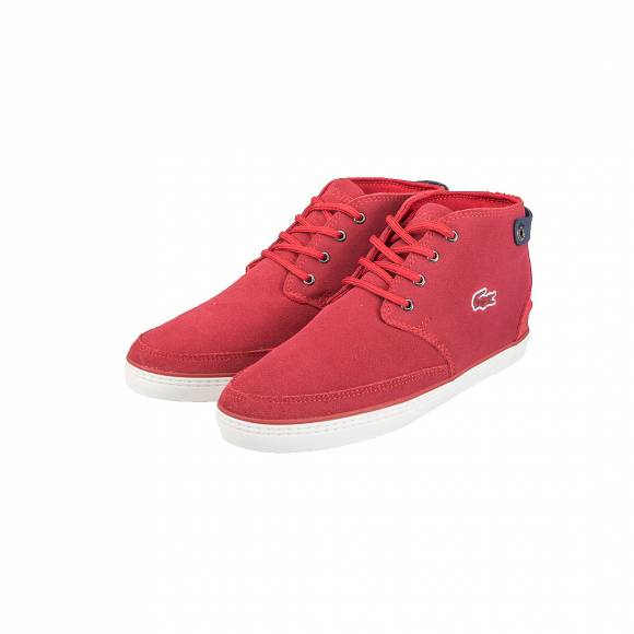 LACOSTE CLAVEL W 316 1 CAW RED SUEDE 7-32CAMW0130047