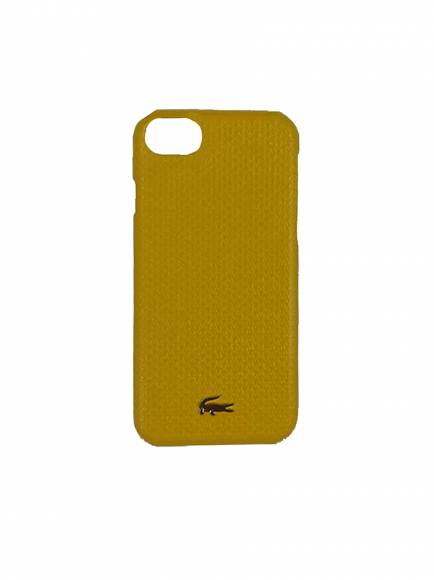 Lacoste NF2707CE Iphone case 8 Mineral Yellow 833 split Cow Leather