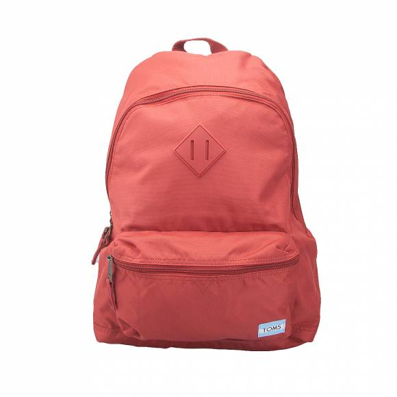 TOMS 10010945 FH17 TOMATO RED POLY BACKPACK