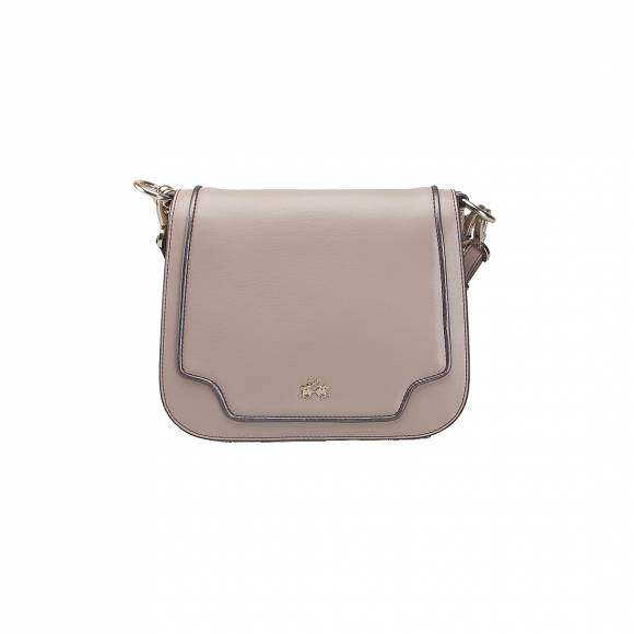 LA MARTINA SHOJDER BAG BONAERENSA 41W013 K0040 04097 LIGHT TAUPE