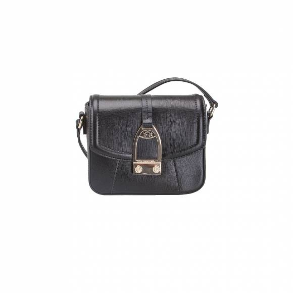 LA MARTINA SHOULDER BAG LA PORTENA 41W006 K0001 09999 BLACK