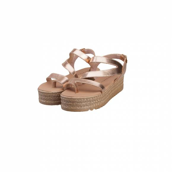 TOUTOUNIS 26186 ROSE GOLD LEATHER