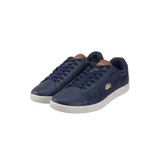 LACOSTE CARNABY EVO 317 2 SPM NVY/BRW LEATHER 7-37SPM0062Q8