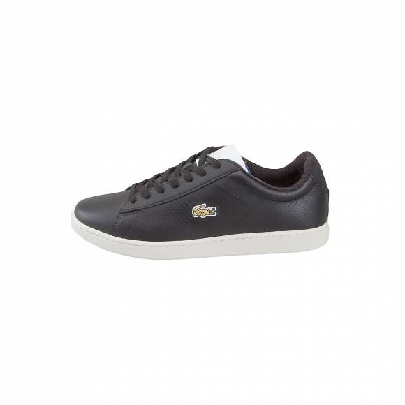 LACOSTE CARNABY EVO 317 2 SPM BLK/WHT LEATHER 7-34SPM0002312