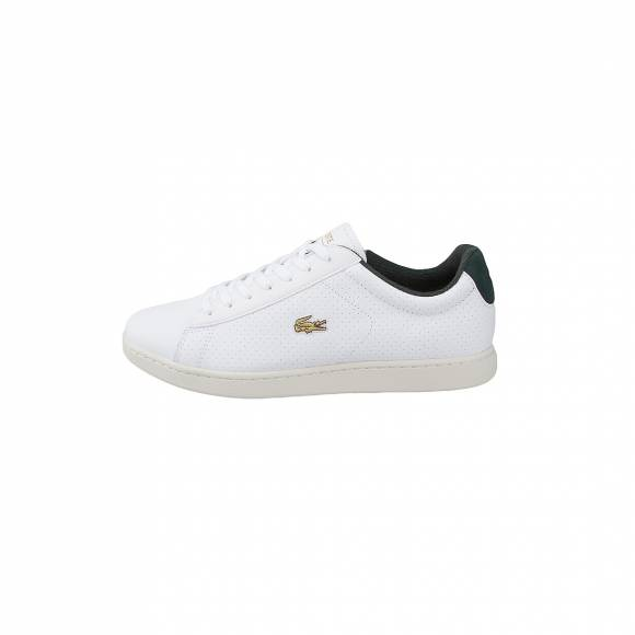 LACOSTE CARNABY EVO 317 2 SPM WHT/GRN LEATHER 7-SPM0002082