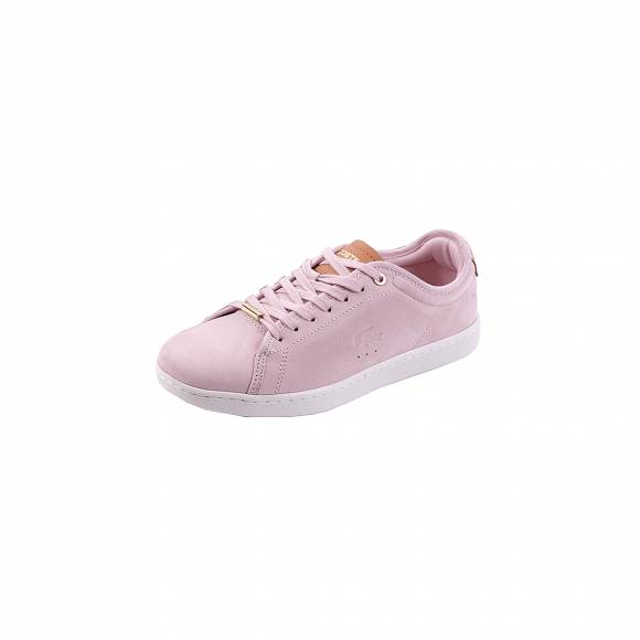 Lacoste Carnaby evo 317 8 Spw Lt pnk Off wht Nubuck 7-34Spw00342E5