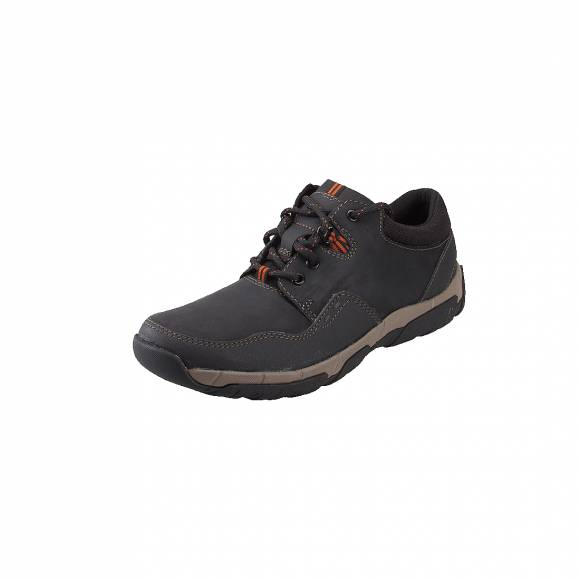 Ανδρικά Δερμάτινα Sneakers Clarks WelbeckEdge II 261386567 Black