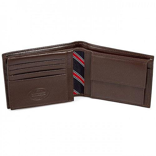 TOMMY HILFIGER ETON CC AND COIN POCKET BROWN 2 AMOAM00651 041