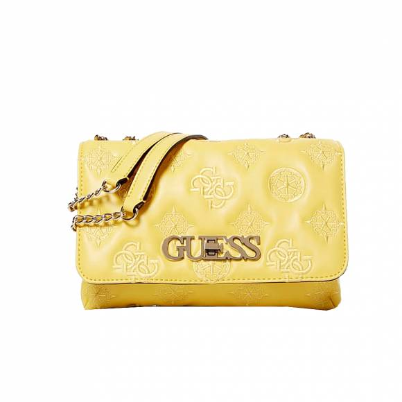 Γυναικείες Τσάντες Guess Chic Convertible Flat SG758921 Yellow