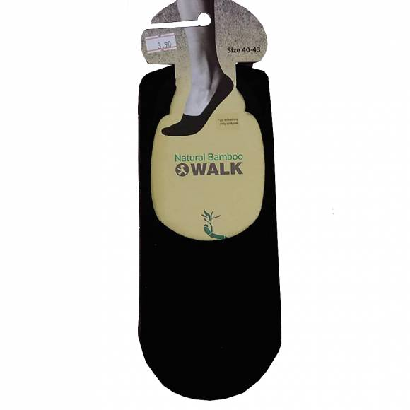 Walk socks W734 Black Bamboo