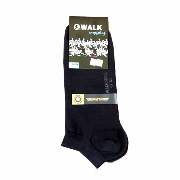 Walk socks W126 Blue Cotton